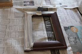 painted wood picture frames. DIY Wooden Picture Frames Painted Wood
