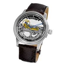 stuhrling original men s 213a 331x13 limited edition saturnalia stuhrling original 213a 331x13 men s symphony saturnalia bridge limited edition automatic skeleton watch