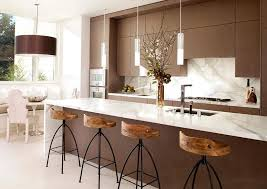 Kitchen marble top Carrera Marble Marble Kitchen Islands Homedit Fancy Furniture Designs With Marble Tops