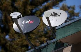 a satellite tv installer has to install a satellite dish in the right position to ensure dish network installers