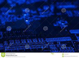 Digital Hardware Design Engineer Electronics Engineering Motherboard Digital Data Stock Photo