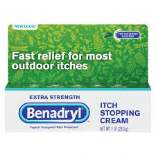 Benadryl Itch Stopping Cream - Extra Strength- 1 oz