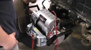 installing a winch