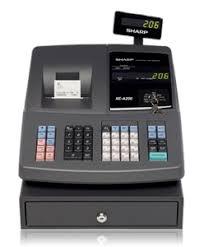 sharp xe a206. sharp xe-a206 cash register xe a206 sharp-register.com