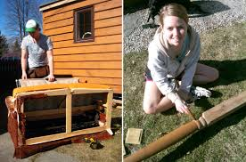 Exellent Living In A Tiny House Kristin And Collin Building Their Home Design Ideas