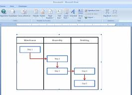 Excel Word How To Embed An Excel Flowchart In Microsoft Word Breezetree