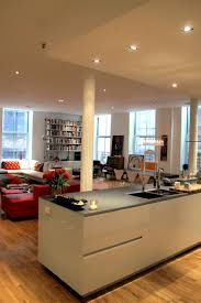 Kitchen Living Room Divider Kitchen Sparkling Open Kitchen Connected With Living Room Using