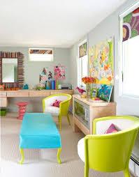 colorful home office. colorful home office studio digsdigs