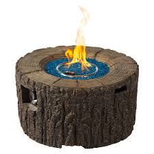 Mgo Wood Stump Fire Pit Walmart Com Walmart Com