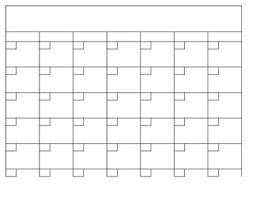 Blamk Calendar Blank Calendar Template In Excel Language Arts Blank Calendar