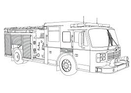 Fire Truck Coloring Firetruck Coloring Pages Fire Trucks Coloring