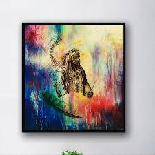2019 unframed modern abstract oil painting native american indian huge wall decor on canvas from willtrade888 8 85 dhgate com