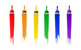 paint brushes and paint. pin colors clipart paintbrush #1 paint brushes and y