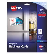 Avery Template 88220 Business Cards Advance Office Janitorial