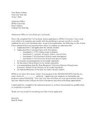 Admissions Officer Sample Resume Fascinating Essay Letter For College Admission College Application Cover