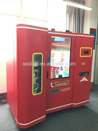 Vending Machine Pizza Mesmerizing Hot Food Pizza Vending Machine With Touch Screen For Shopping And