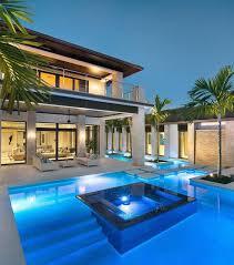 Luxury home swimming pools Backyard Luxury Modern Blue Lighting Home Swimming Pool Designs Next Luxury 75 Swimming Pool Designs For Men Cool Ideas To Soak In