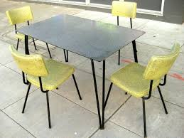 1960s kitchen table furniture collectibles sold chairs tables for