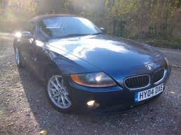 Coupe Series 2004 bmw roadster : Used 2004 BMW Z4 2.2SE Roadster for sale in Crowborough East ...