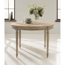 french round dining table with regard to antique style prepare 5