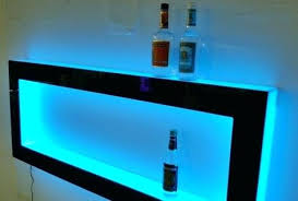 lighted book shelf great blue wall shelf l e d lighted floating two level glass mounted square bookshelf lighted book shelf save led lighted bookshelf