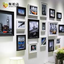 modern white picture frames. 16pcs Modern Art Love Family Wooden Photo Frames Set Wall Clock Collage Stylish Frame White Picture