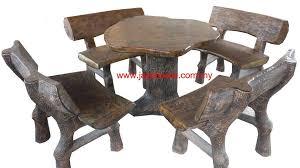 Cement table concrete table terrzzo table garden table outdoor table malaysia 洋灰户外公园桌椅
