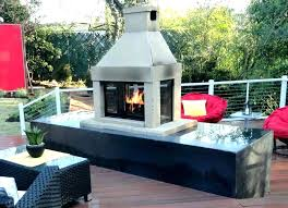 outdoor prefab fireplace prefab outdoor fireplace cost