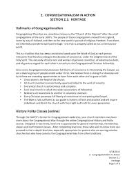 handbook for congregational chur simplebooklet com 2 congregationalism in action section 2 1 heritage hallmarks