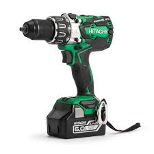 brushless drill. hitachi dv18dbxl combi drill 18v cordless brushless (2 x 6.0ah batteries) s