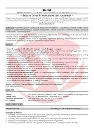 Software Qa Manager Resumes Software Testing Sample Resumes Download Resume Format