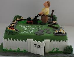 Gardeners Birthday Cake Pauls Creative Cakes Flickr
