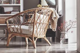 ikea stockholm collection rattan armchair