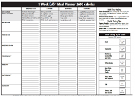 Wedding Meal Planner The Dash Diet Plan Meal Planner Make A Gantt Chart In Excel