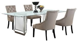dining room sets uk. Mirrored Dining Room Set Silver 5 Piece Contemporary Table Sets Uk A