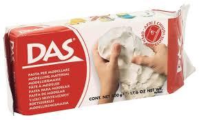 <b>Масса для лепки Das</b> белая, 500 г (387000) — купить по выгодной ...