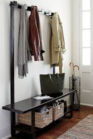 Foyer Benches With Coat Racks Mudroom Foyer Bench With Coat Rack Entryway Storage Set Home 54