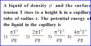 Physics Tension Problems Surface Tension Problems With Solutions Three Iit Jee And