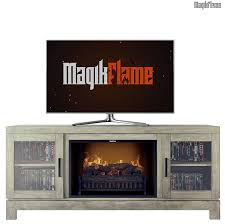 nike spanish gray a center electric fireplace wall mantel tv