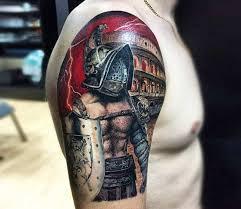 Gladiator Tattoo By Nastasya Ustinova Post 24353