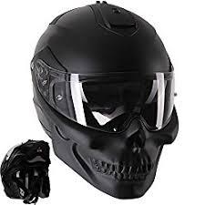 skull modular custom motorcycle helmet motorcyclegearpro
