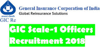 Image result for General Insurance Corporation of India Recruitment 2018
