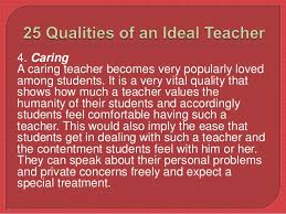 ideal teacher 9 5 understanding an ideal teacher