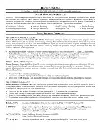 example human resources assistant resume samples template resume samples for hr