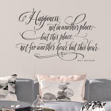 Happiness Quotes Walt Whitman Happy Wall Decals
