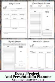 College Planners 2020 College Student Printable Planner 2019 2020 Back To School