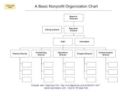 Org Chart Program Free Non Profit Organizational Chart Template Hindhaugh Me