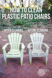 plastic patio chairs.  Plastic How To Clean Plastic Patio Chairs To