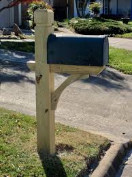 wood mailbox posts. Custom Wooden Mailbox - Buyrningwood Farm Wood Posts