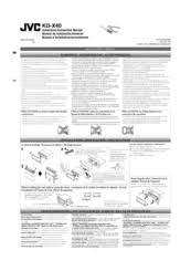 jvc kd x manuals jvc kd x40 installation manual
